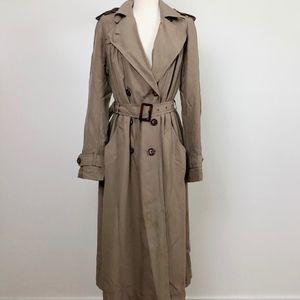 Anthropologie Lil Brand, Tan Trench Coat